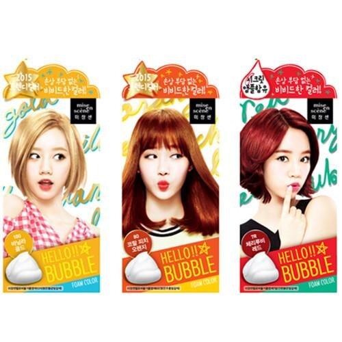 Review thuốc nhuộm tóc dạng bọt Mise En Scene Hello Bubble Foam Color