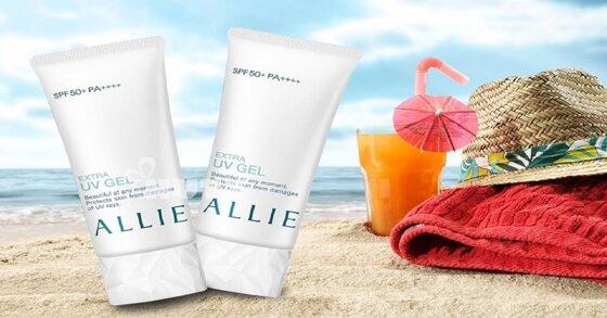 Review về kem chống nắng Kanebo Allie Extra UV