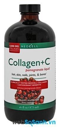 Review về thức uống bổ sung Collagen +C Pomegranate Liquid