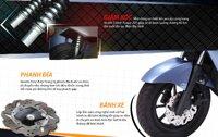 Review xe máy điện Honda Prinz có gì: Giá bán, Thông số kỹ thuật