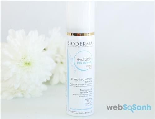 Review Xịt dưỡng chống nắng Bioderma Hydrabio Eau de Soin SPF 30