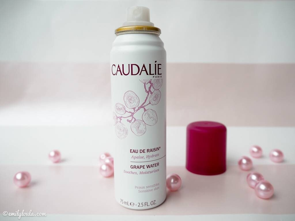 Review xịt khoáng Caudalie Limited Edition Grape Water