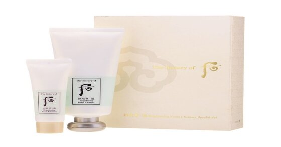 Reviewchi tiết về sữa rửa mặt Whoo trắng Hàn Quốc