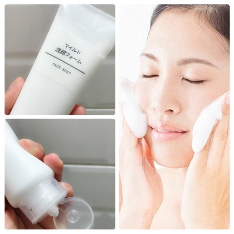 Sữa rửa mặt Muji dùng có tốt không? Phù hợp với loại da nào?