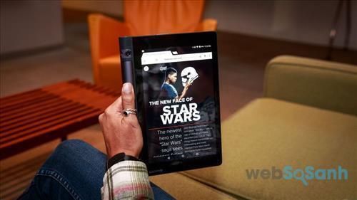 Yoga Tab 3 là một chiếc máy tính bảng giải trí toàn diện