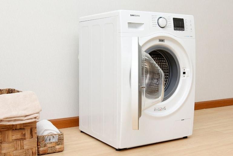 Máy giặt lồng ngang thiết kế đẹp và hiện đại
