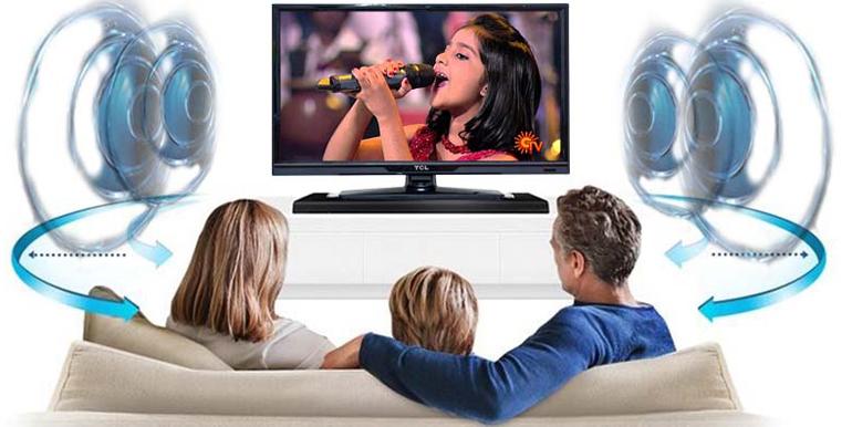 Chất lượng âm thanh tivi TCL trung thực và sống động