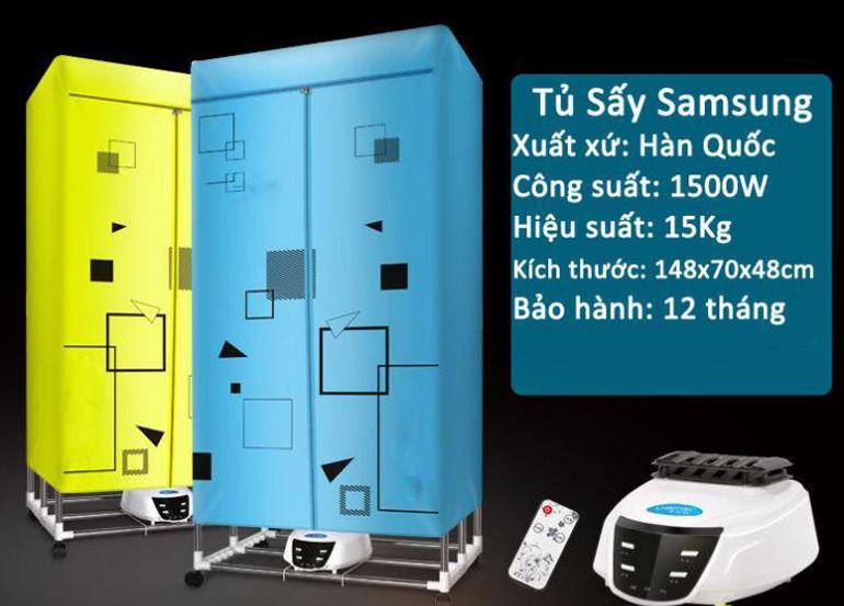 Tủ sấy quần áo Samsung - Tủ sấy quần áo giá rẻ