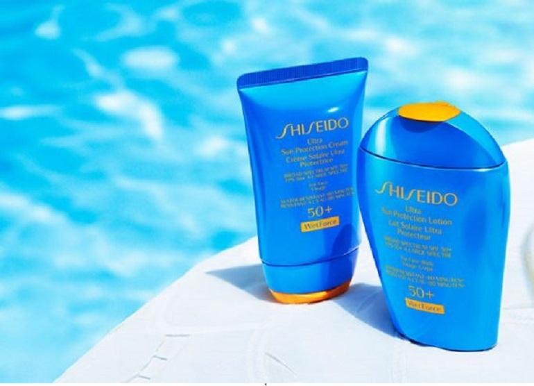 Kem chống nắng toàn thân Shiseido wetforce UV perfect protector