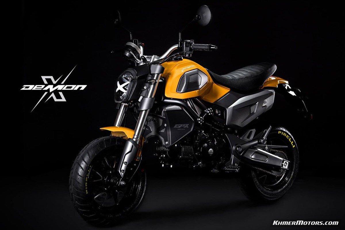 Xe moto GPX Demon X 125 nhỏ nhắn nhưng mạnh mẽ