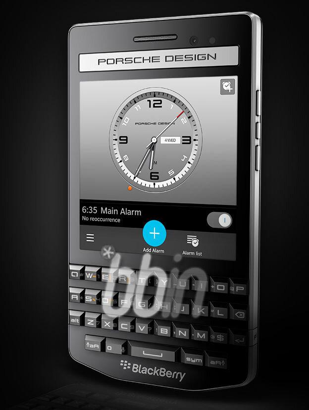 Rò rỉ thông số kỹ thuật của BlackBerry Porsche P'9983