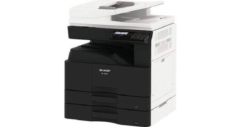Máy photocopy văn phòng Sharp BP-20M24 (giá tham khảo từ 20.000.000 đồng).