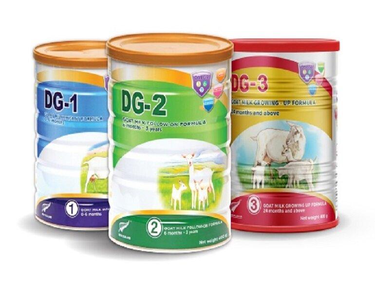 Top 5 sữa bột trẻ em từ sữa dê tốt nhất hiện nay