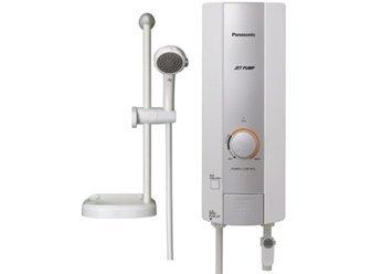 Bình tắm nóng lạnh trực tiếp Panasonic DH-4HP1W - 4500W, chống giật