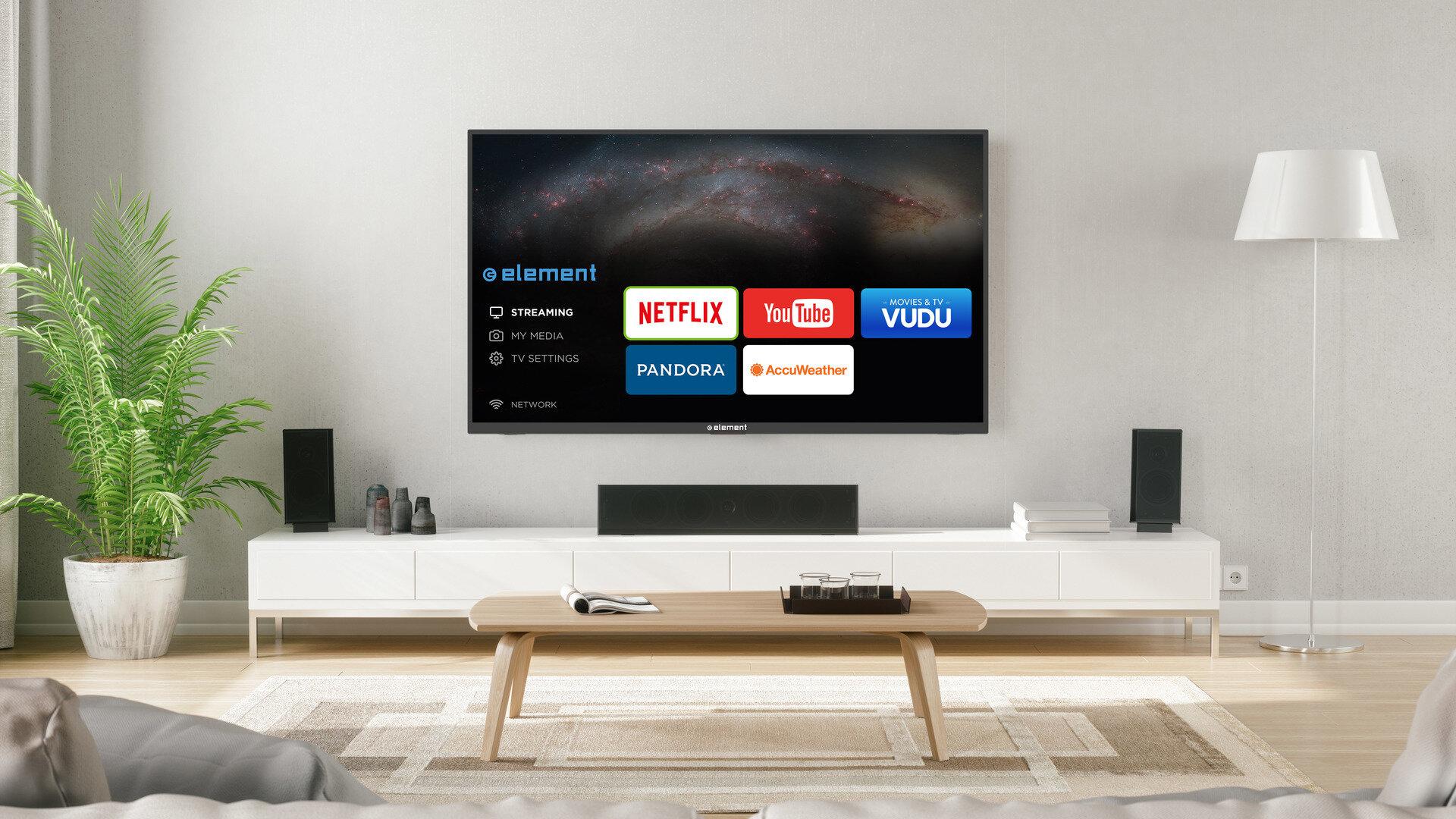Một chiếc tivi với thiết kế sang trọng, tinh tế sẽ giúp tô điểm không gian nội thất của gia đình bạn