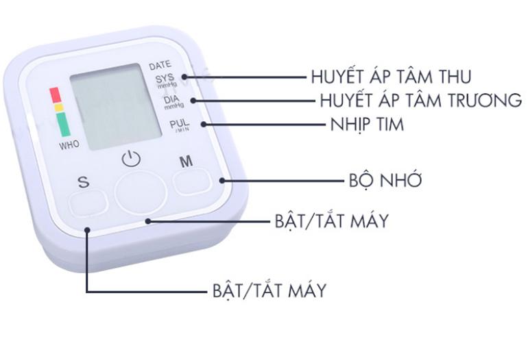 Hướng dẫn cách dùng máy đo huyết áp Fusaka