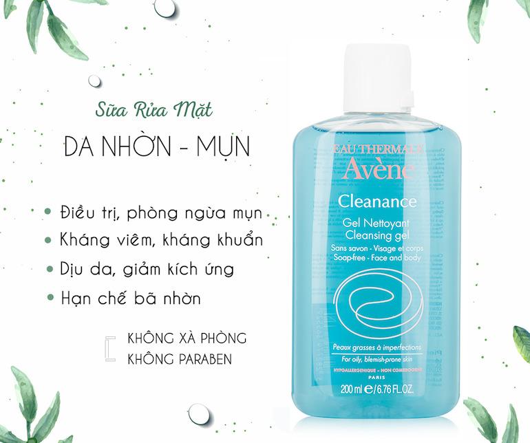 Sữa rửa mặt Avene Cleanance Soapless Cleanser Gel