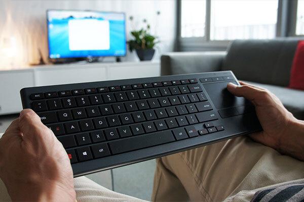 Điều khiển tivi bằng kết nối chuột, bàn phím