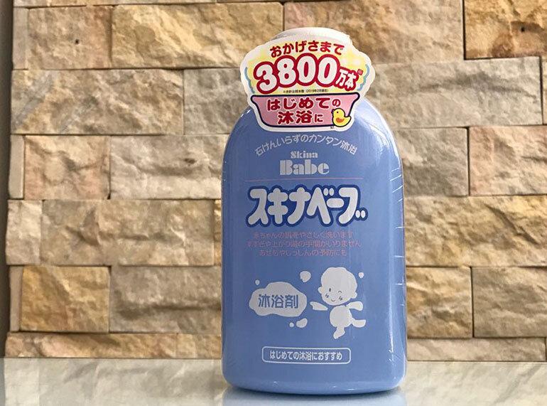 Sữa tắm trị rôm sảy cho bé sơ sinh Skina Babe