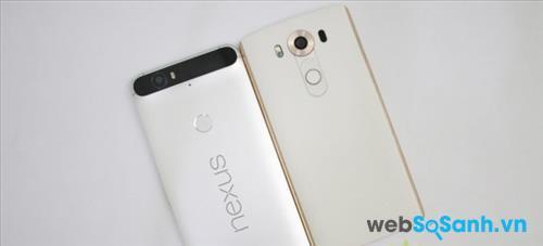 So sánh LG V10 và Nexus 6P