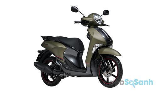 Giá xe máy Yamaha Janus 2017