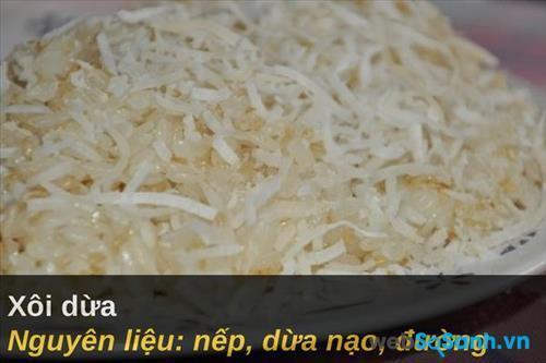 Xôi dừa (xô chay)