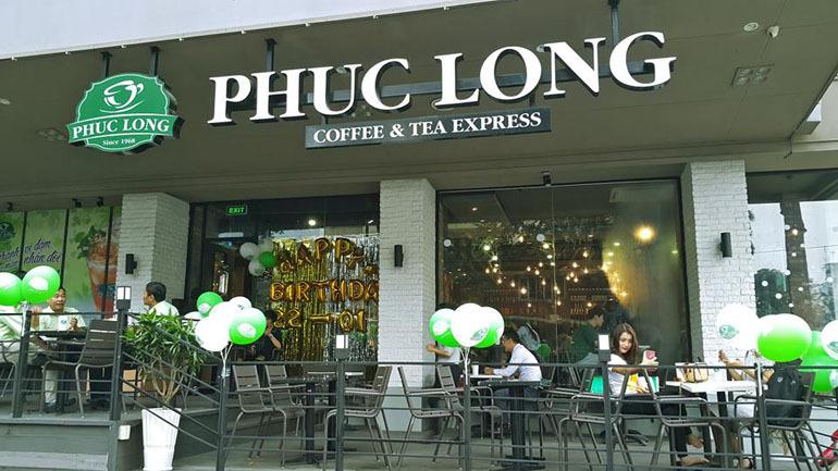 cửa hàng Phúc Long