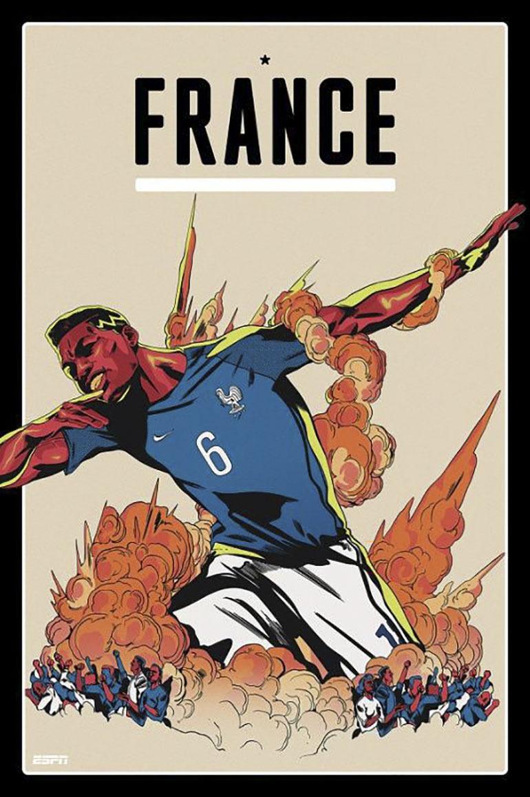 Đội tuyển Pháp vẫn luôn là một thế lực hắc ám, sức mạnh của đội bóng rất lớn, tuy nhiên chỉ khi ông thần POGBA không cắt tóc mới tuyệt nhiên thắng cho mà coi