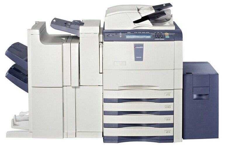 Máy photocopy công suất lớn.