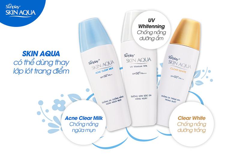 Nguồn gốc xuất xứ của kem chống nắng Skin Aqua