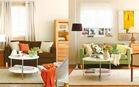 2 cách bài trí phòng khách đơn điệu trở nên sống động