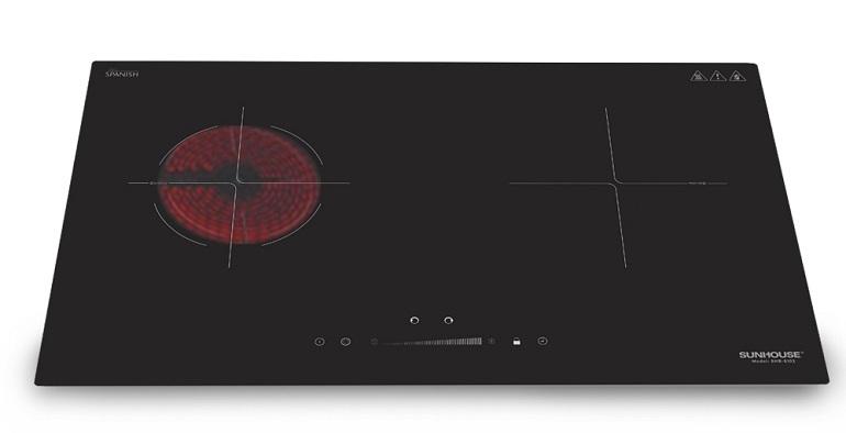 Bếp điện hồng ngoại có công suất cao