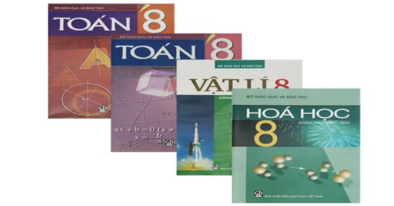 Sách giáo khoa toán 8 tập 2 và 3 điều phụ huynh cần lưu tâm