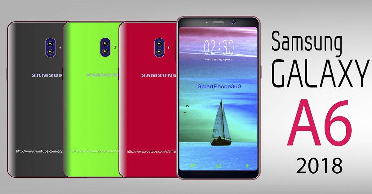 Samsung Galaxy A6 2018 chiếc điện thoại tầm trung sở hữu màn hình vô cực độc đáo
