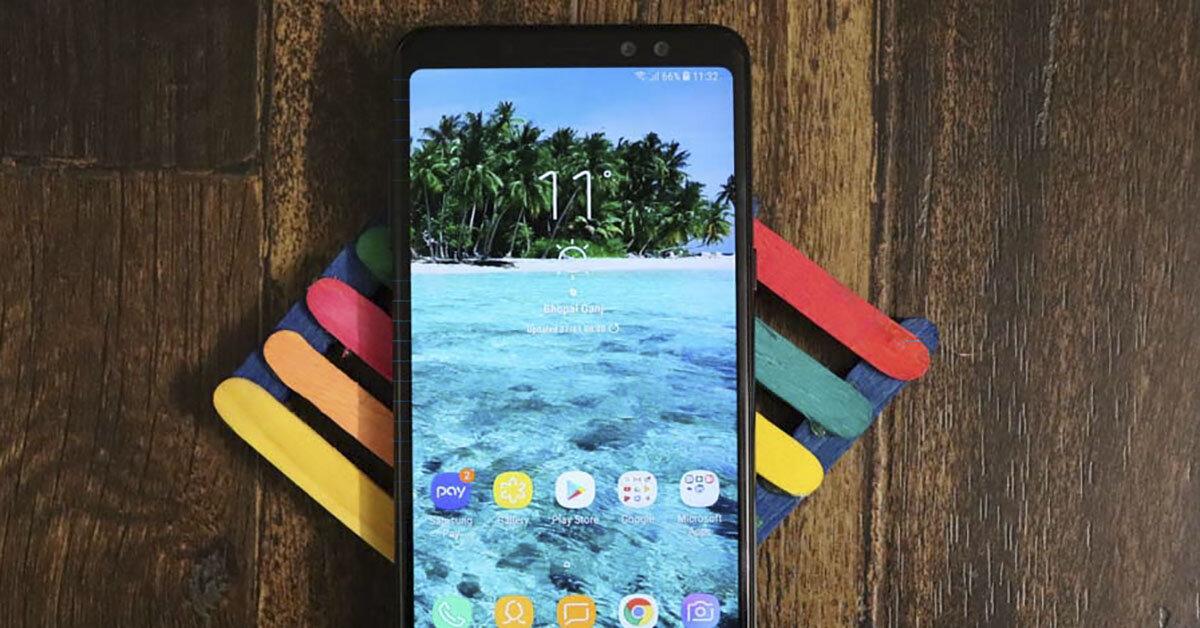 Samsung Galaxy A6 Plus sức bật từ gã khổng lồ Samsung