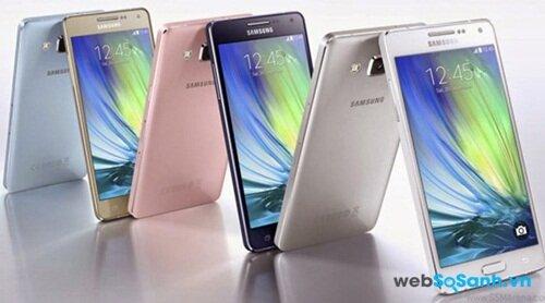 Samsung Galaxy A7 mỏng nhưng mạnh mẽ