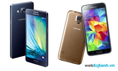 Samsung Galaxy A7 vs Samsung Galaxy S5 cuộc nội chiến của Samsung?