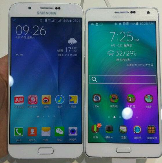 Samsung Galaxy A8 lộ ảnh thực tế với màn hình