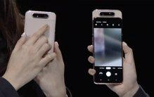 Samsung Galaxy A80 ấn tượng với camera xoay trượt độc đáo, lấy nét tốt góc siêu rộng