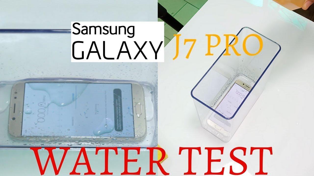 Samsung Galaxy J7 Pro có chống nước không và những câu hỏi thường gặp