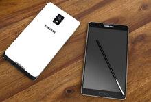 Samsung Galaxy Note 4 sở hữu cảm biến vân tay giống như Galaxy S5 và Alpha