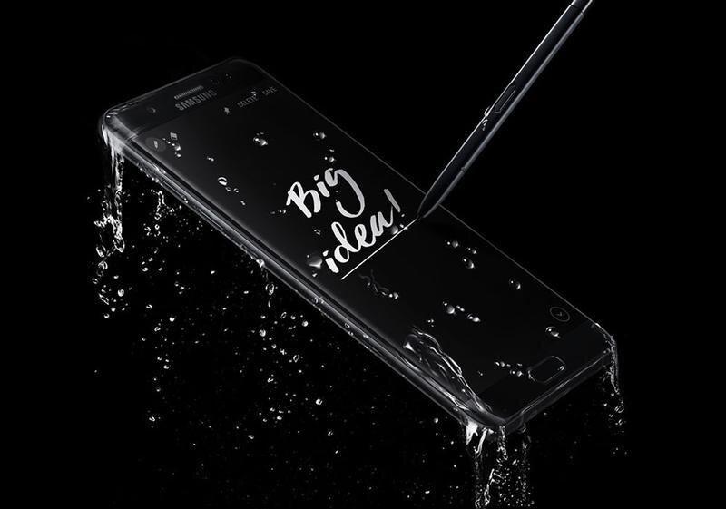 Samsung Galaxy Note 7 – Phablet chống nước đầu tiên của Samsung