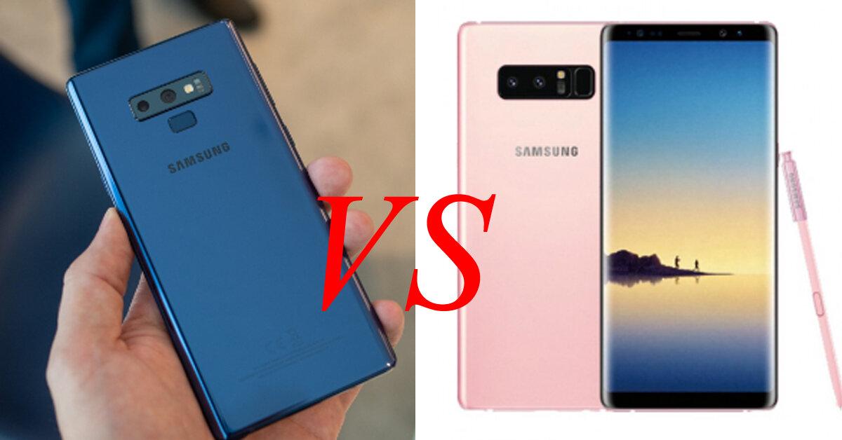 """Samsung Galaxy Note 9 và Galaxy Note 8 : Đâu mới là lựa chọn smartphone đáng để """"lên đời"""" ?"""