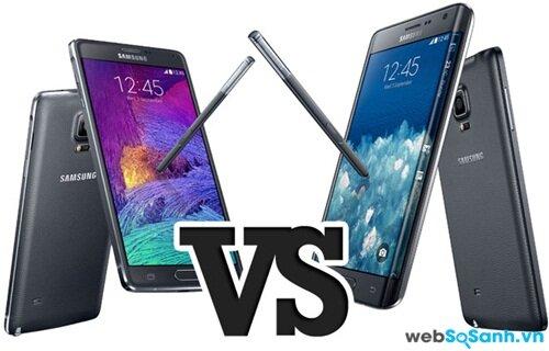 Samsung Galaxy Note Edge khác biệt gì so với Galaxy Note 4