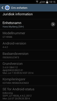 Samsung Galaxy S4 LTE-A được cập nhật Android 4.4 KitKat