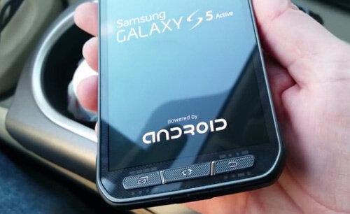 Samsung Galaxy S5 Active trước ngày ra mắt