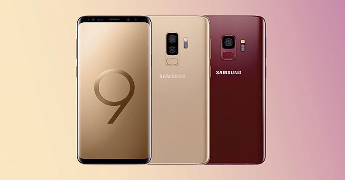 """Samsung Galaxy S9+ tiếp tục """"nổ súng"""" với tông màu vàng cực chất"""