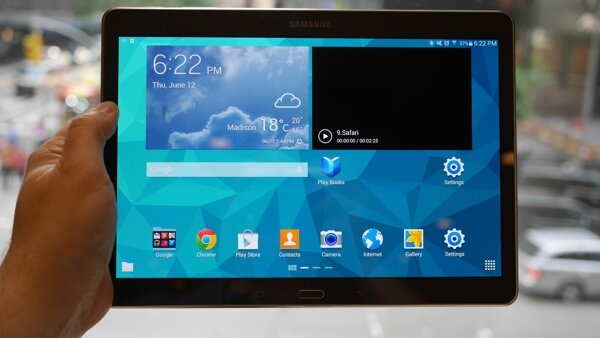 Samsung Galaxy Tab S 10.5 bảo mật hơn với cảm biến vân tay