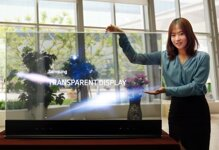 Samsung giới thiệu màn hình trong suốt kích thước 55 inch