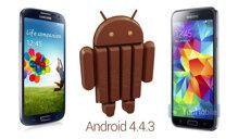 Samsung thử nghiệm Android 4.4.3 cho Galaxy S4 và S5